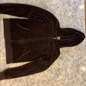 Juicy Couture Velour hoodie brown
